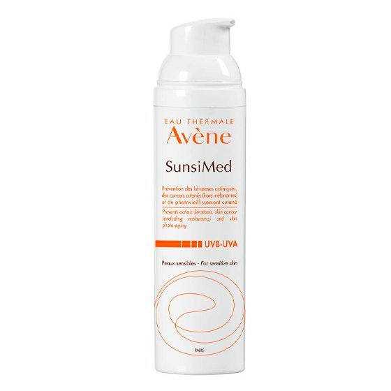 AVENE SOLAR SUNSIMED CREME PELE SENSIVEL 80ML