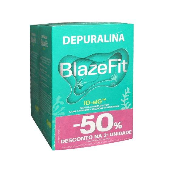 Depuralina Blazefit Duo Cápsulas 2 x60 Unidade(S) Com Desconto De 50% Na 2ª Embalagem