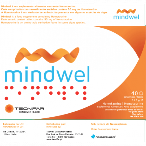 MINDWEL COMPRIMIDOS X40