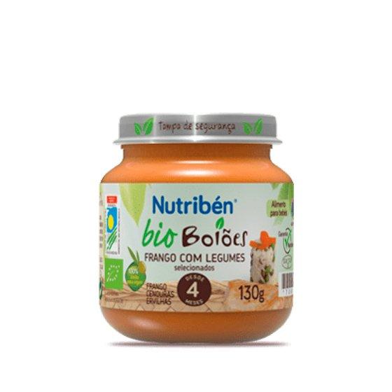 NUTRIBEN BIO BOIAO FRANGO COM LEGUMES 130G