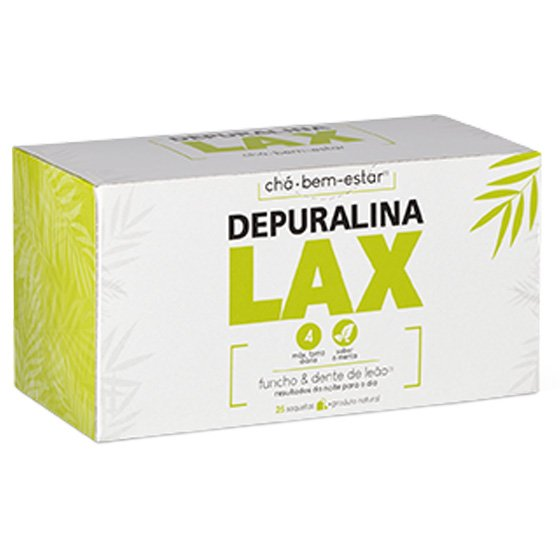 DEPURALINA LAX CHA FUNCHO DENTE LEAO SAQUETAS X 25 PO SOLUCAO ORAL