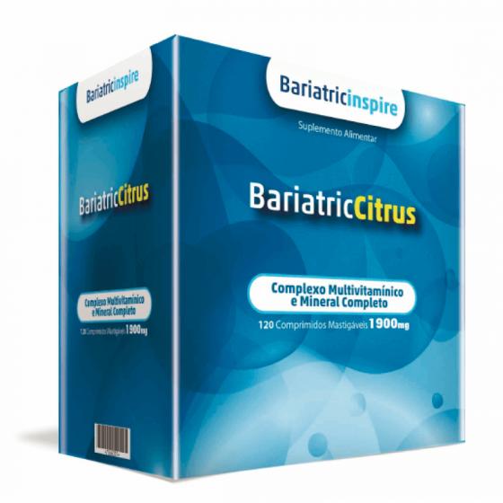 Bariatric Bariatriccitrus 120 Comprimidos Mastigáveis