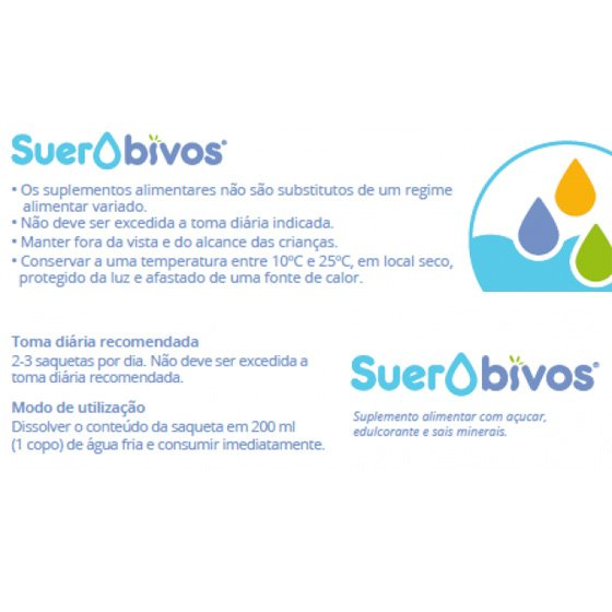 SUEROBIVOS SAQUETAS X6
