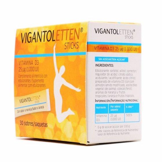 VIGANTOLETTEN STICKS SAQUETAS X30