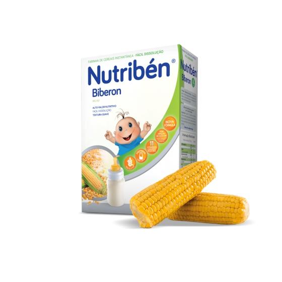 NUTRIBEN FARINHAS BIBERON SEM ACUCAR 300G