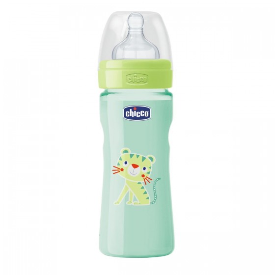 CHICCO BIBERAO BENESSERE WELL BEING SILICONE NEUTRO 250ML