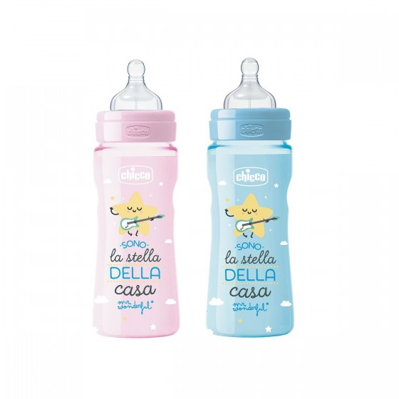 CHICCO BIBERAO BENESSERE WELL BEING MR WONDERFUL 330ML