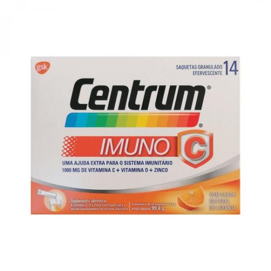CENTRUM IMUNO C 14 SAQUETAS