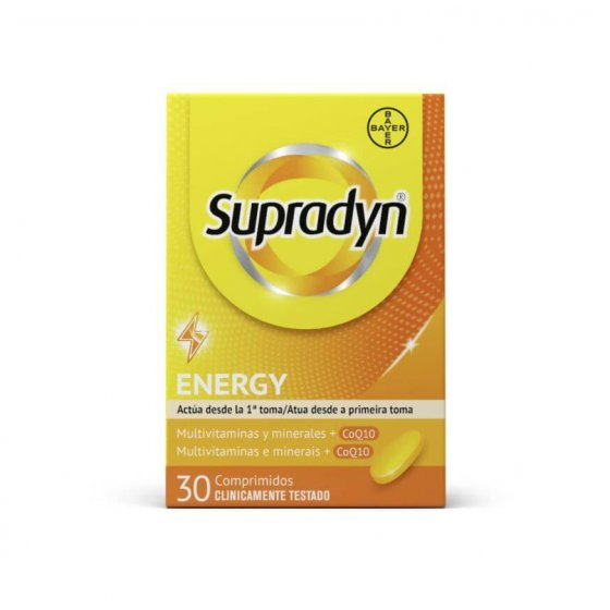 Supradyn Energy 30 Comprimidos