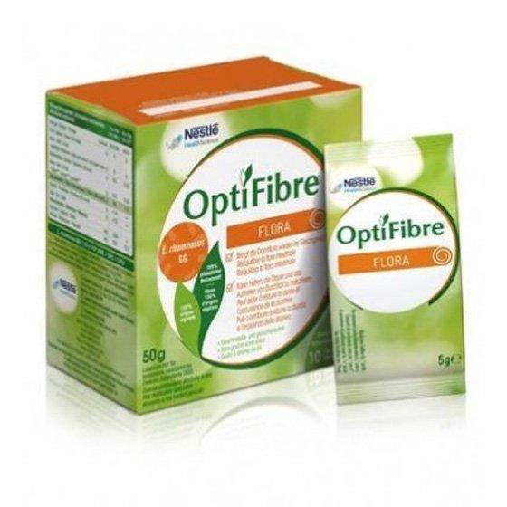 OPTIFIBRE FLORA SAQUETAS 5G X10