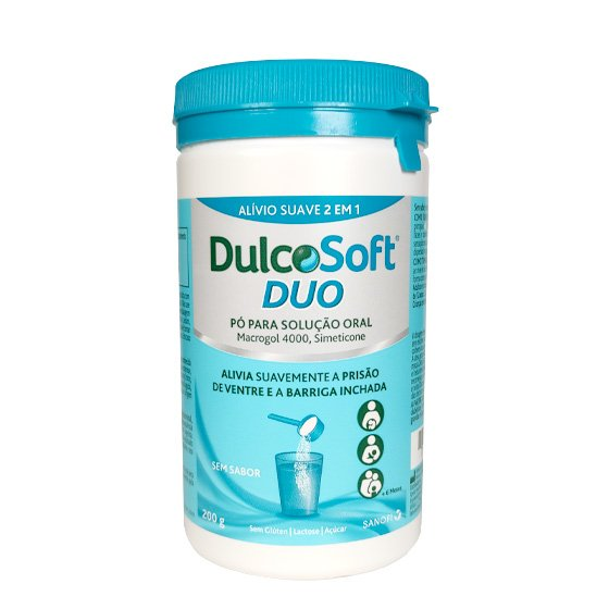 Dulcosoft Duo Pó Para Solução Oral 200g