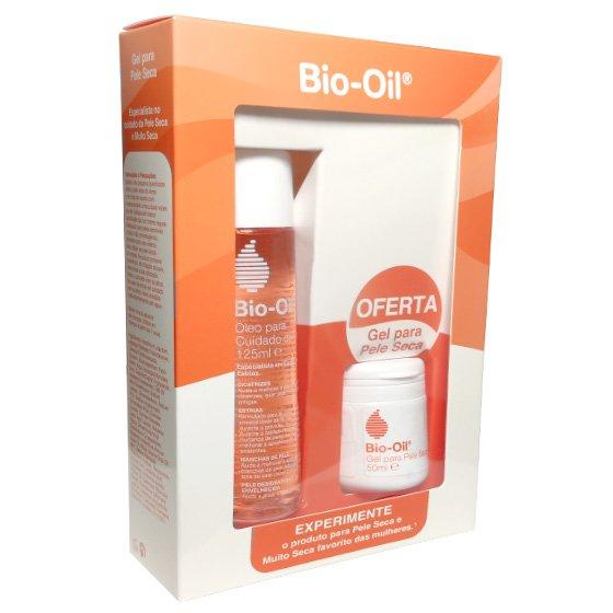 Bio-Oil Óleo Corporal 125 ml Com Oferta De Gel Cuidado Para Pele Seca 50ml