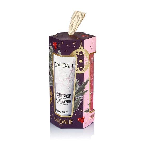 Caudalie Coffret Gourmande Creme de Mãos e Unhas 30ml + Rose de Vigne Creme de Mãos e Unhas 30ml + The Des Vignes Creme de Mãos e Unhas 30ml