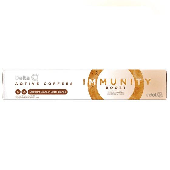 Delta Q Immunity Boost Cápsulas Café x10