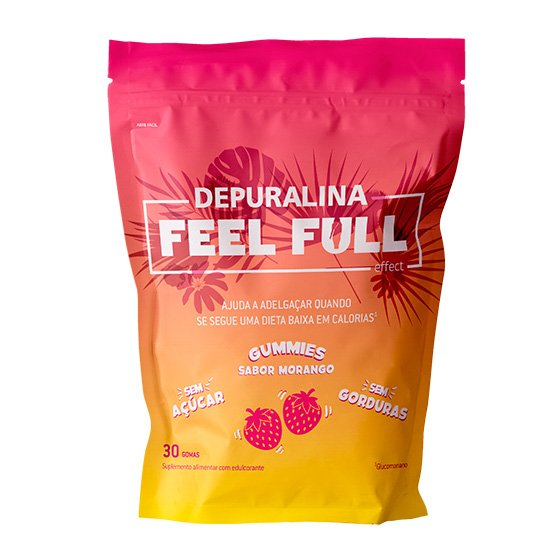 Depuralina Feel Full Gomas x30