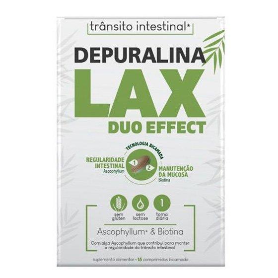 Depuralina Lax Duo Effect Comprimidos x15