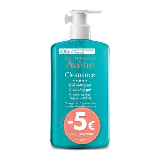 Avene Cleanance Gel De Limpeza 400ml Com Desconto De 5€