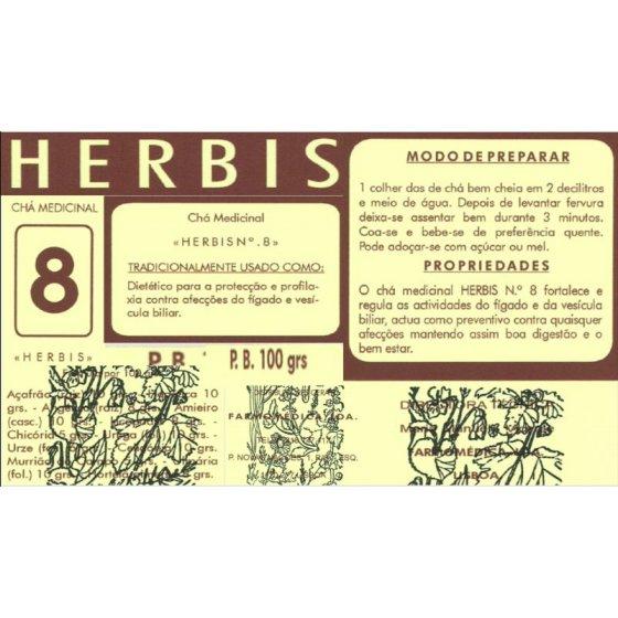 HERBIS CHÁ N8 100G
