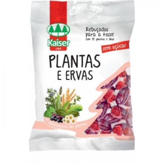 KAISER REBUÇADOS PLANTAS ERVAS 75G