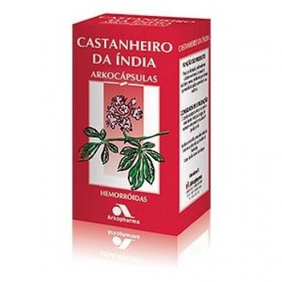 ARKOCAPSULAS CASTANHEIRO INDIA CAPSULAS X50 CAPSULAS CASTANHEIRO DA INDIA (AESCULUS HIPPOCASTANUM)