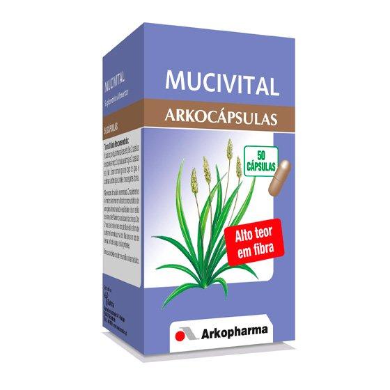 ARKOCAPSULAS MUCIVITAL CAPS X50 CAPS ISPAGHULA