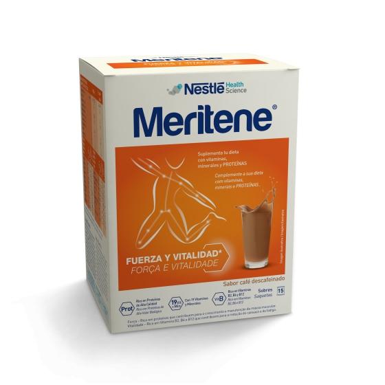 MERITENE CAFE DESCAFEINADO CARTEIRAS PO X 15