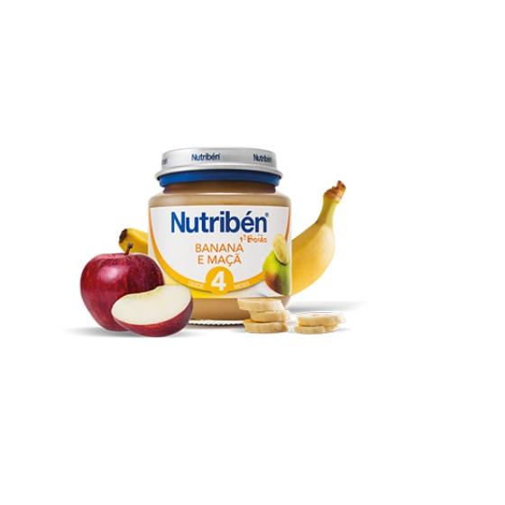 Nutriben Boião 1 Banana Maçã 130g