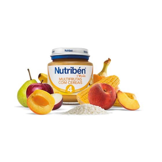 Nutriben Boião 1 Multifrutas Cereais 130g