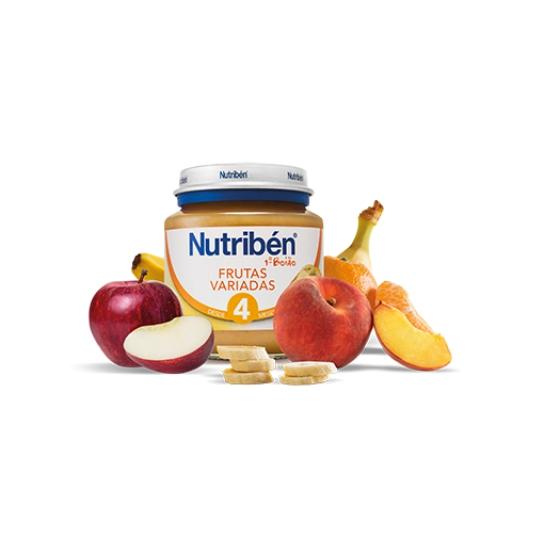 Nutribén Boião 1 Frutas Variadas 130g