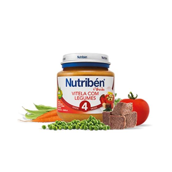 NUTRIBEN BOIAO 1 VITELA COM LEGUMES 130G