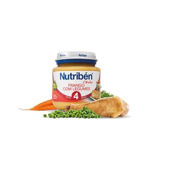 NUTRIBEN BOIAO 1 FRANGO COM LEGUMES 130G