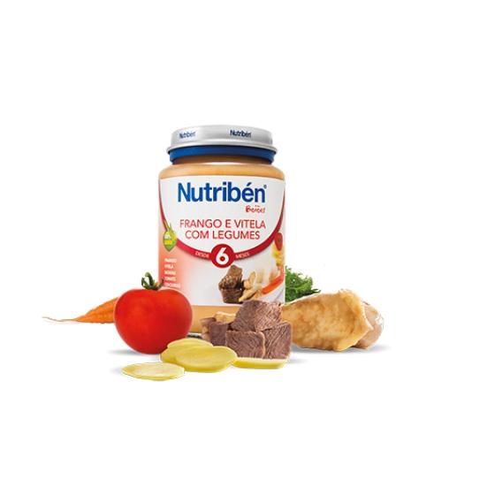 Nutribén Boião Frango e Vitela com Legumes 200g