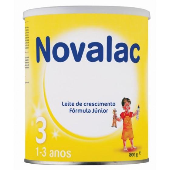 Novalac 3 Formula junior Baunilha 800g