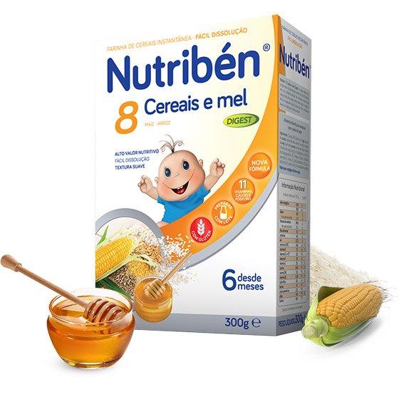Nutriben 8 Cereais e Mel Digest 300g