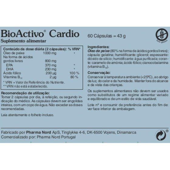 BIOACTIVO CARDIO X60 CAPSULAS