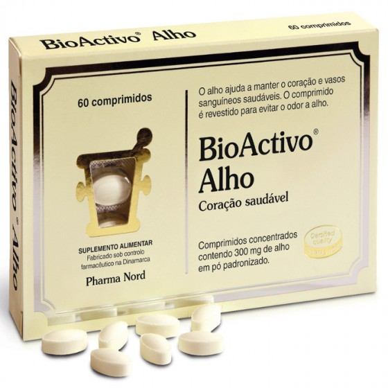 BIOACTIVO ALHO COMPRIMIDOS X 60