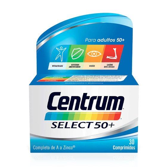 CENTRUM SELECT 50+ X30 COMPRIMIDOS REVESTIDOS