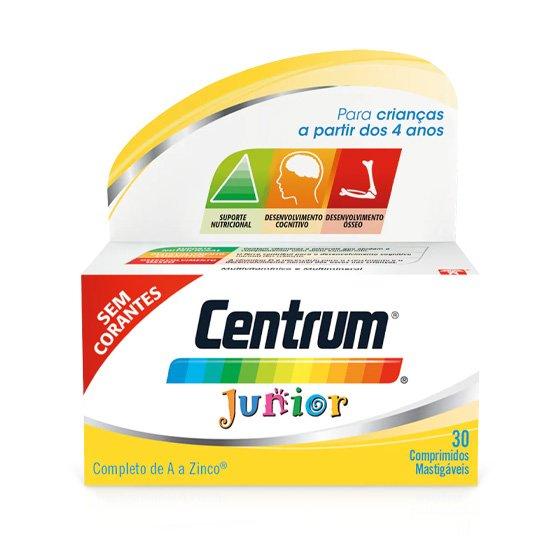 CENTRUM JUNIOR X30 COMPRIMIDOS MASTIGAVEIS