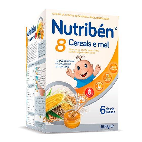 NUTRIBEN FARINHAS 8 CEREAIS MEL 2X300G