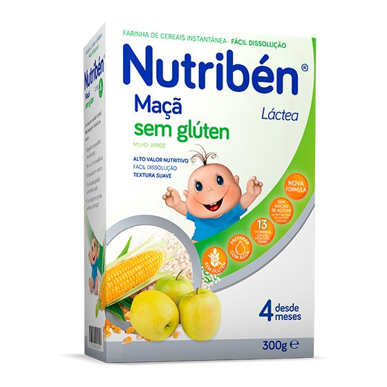 NUTRIBEN MAÇÃ LÁCTEA 300G