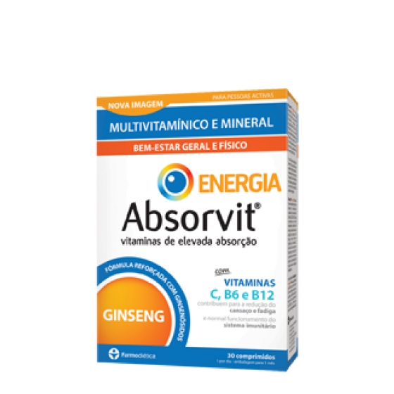 ABSORVIT ENERGIA COMPRIMIDOS X 30