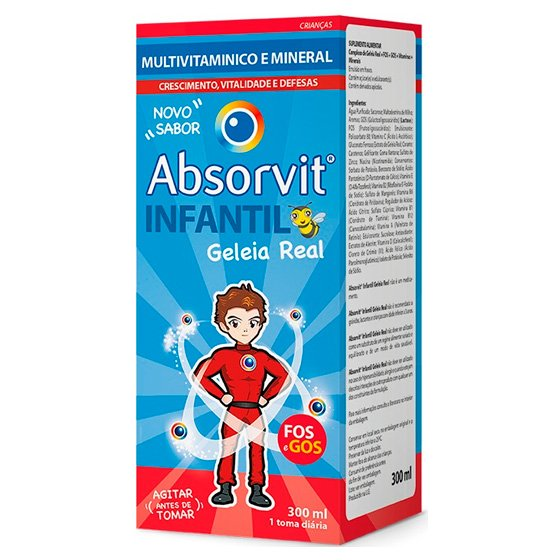 ABSORVIT INFANTIL XAROPE 300 ML