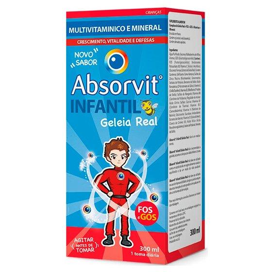 ABSORVIT INFANTIL XAROPE 300 ML