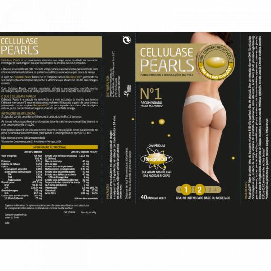 CELLULASE GOLD PL CAPSULAS CELULITE X 40