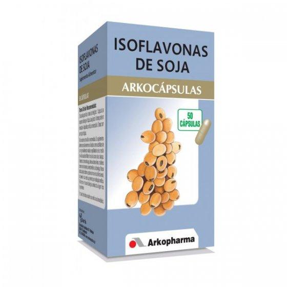 ARKOCAPSULAS ISOFLAVONAS SOJA CÁPSULAS X 50