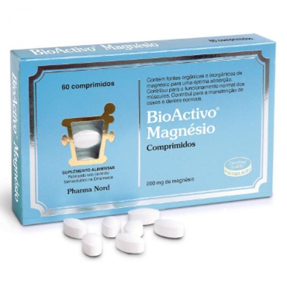 BIOACTIVO MAGNESIO X 60 COMPRIMIDOS