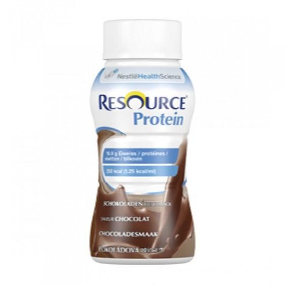 RESOURCE PROTEIN SOLUCAO ORAL CHOCOLATE 200 ML X 4 EMULSAO ORAL FRASCO