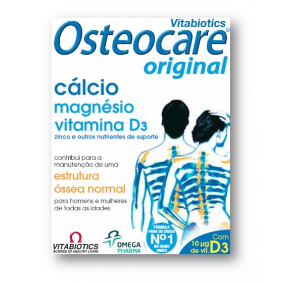 OMEGA PRISFAR OSTEOCARE CÁLCIO MAGNÉSIO 90 COMPRIMIDOS