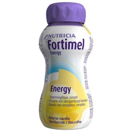 FORTIMEL ENERGY SOLUCAO ORAL BAUNILHA 200ML X 4