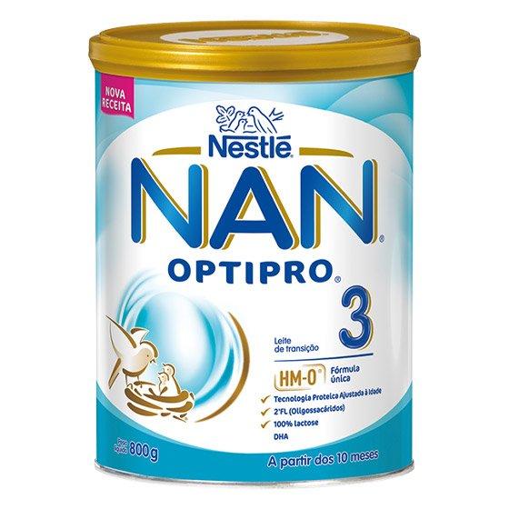 NAN 3 LEITE TRANSIÇÃO 800G
